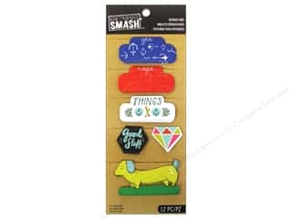 K & Company Dimensional Stickers: K&Company Smash Divider Tabs