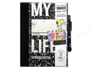 Back To School Scrapbooking & Paper Crafts: K&Company Smash Journal Fill-in-the-Blank Life