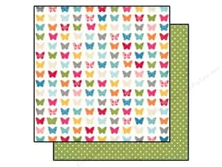 Echo Park Paper 12x12 Fine&Dandy Flutr Butterflies (25 piece)