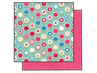 Buttons & Bees: Echo Park 12 x 12 in. Paper Fine And Dandy Collection Garden Party (25 sheets)