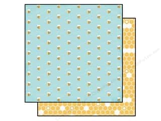 Busy Bee Designs: Echo Park 12 x 12 in. Paper Fine And Dandy Collection Busy Bees (25 pieces)