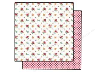 Echo Park 12 x 12 in. Paper Fresh Flowers (25 piece)