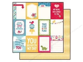 Echo Park Paper 12x12 Fine&Dandy Journal Card 3x4 (25 piece)