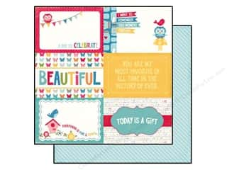 Echo Park Paper 12x12 Fine&Dandy Journal Card 4x6 (25 piece)