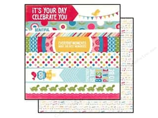 Echo Park 12 x 12 in. Paper Fine And Dandy Border Strips (25 piece)