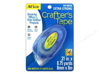 Glues, Adhesives & Tapes Meters: Adhesive Technology Crafter's Tape 8 3/4 yd. Permanent
