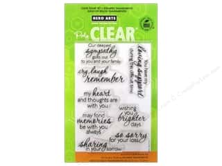 Hero Arts Poly Clear Stamp Set Remember