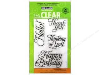 Hero Arts Poly Clear Stamp Set Fancy Basics