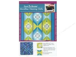 Tack Cloth: C&T Publishing Fast2Clean Microfiber Cleaning Cloths - French Braid Quilt