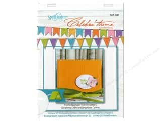 "Embossing Aids 4"": Spellbinders Embossing Folder Celebrat'tions Framed Canvas"