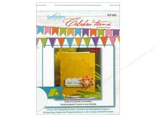 Art Institute Glitter $4 - $5: Spellbinders Embossing Folder Celebrat'tions Doily Art