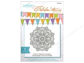 Rubber Stamping Party & Celebrations: Spellbinders Stamp Celebra'tion Doily Fun