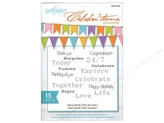 Spellbinders Stamp Celebra'tion Many Words