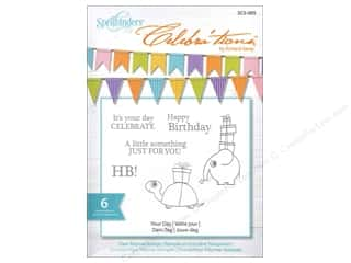 "Spellbinders 6"": Spellbinders Stamp Celebra'tion Your Day"