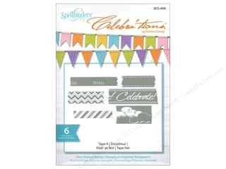 Straight Stitch Rubber Stamping: Spellbinders Stamp Celebra'tion Tape It