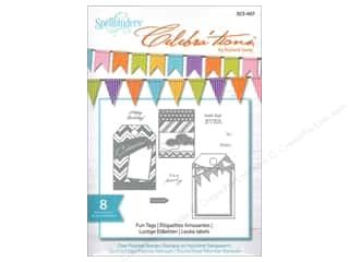 Party & Celebrations Stamps: Spellbinders Stamp Celebra'tion Fun Tags