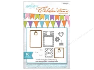 Spellbinders Stamp & Die Celeb Sweet Treats Tags