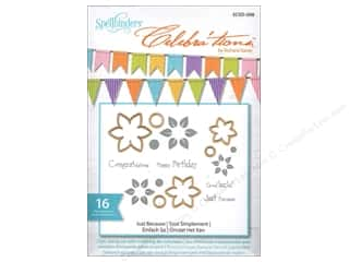 Rubber Stamping $10 - $61: Spellbinders Stamp & Die Celebra'tions Just Because