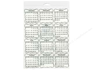 Calendars: SRM Press Sticker Calendar Mini 2015 Decorative