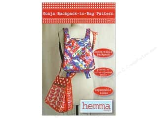 Hemma Design: Sonja Backpack to Bag Pattern
