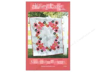 Abbey Lane Fat Quarters Patterns: Abbey Lane Quilts Cellophane Flowers Pattern