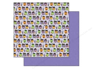 "Doodlebug Black: Doodlebug Ghouls & Goodies Paper 12""x 12"" Spook Alley (25 pieces)"