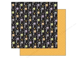 "Doodlebug Black: Doodlebug Ghouls & Goodies Paper 12""x 12"" Midnight Magic (25 pieces)"