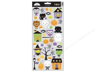 Doodlebug Ghouls & Goodies Stickers Icon (12 sheet)