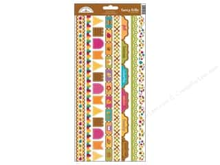 Tabs Animals: Doodlebug Friendly Forest Sticker Fancy Frills