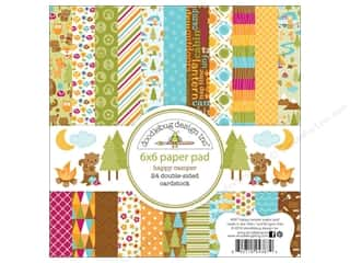 Papers 6 x 6: Doodlebug Paper Pad 6 x 6 in. Happy Camper
