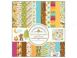 Doodlebug Happy Camper Paper Pack 12x12