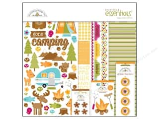 Doodlebug Doodlebug Brads: Doodlebug Happy Camper Essentials Kit