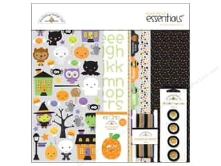 Sew-on Buttons: Doodlebug Ghouls & Goodies Essentials Kit