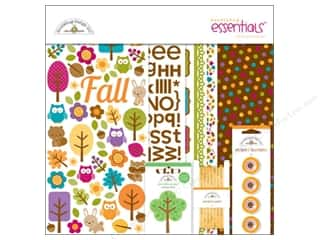 Fall / Thanksgiving Buttons: Doodlebug Friendly Forest Essentials Kit