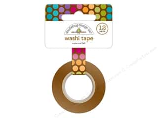 Glues/Adhesives Brown: Doodlebug Friendly Forest Washi Tape Colors Of Fall
