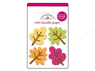 Doodlebug Friendly Forest Doodle Pops Little Leave