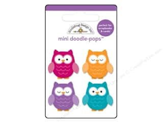 Doodlebug Fall / Thanksgiving: Doodlebug Friendly Forest Doodle Pops Who's Hoo