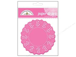 Kids Crafts Cooking/Kitchen: Doodlebug Embellishment Doilies Bubblegum