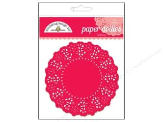 Baking Supplies Scrapbooking & Paper Crafts: Doodlebug Embellishment Doilies Ladybug