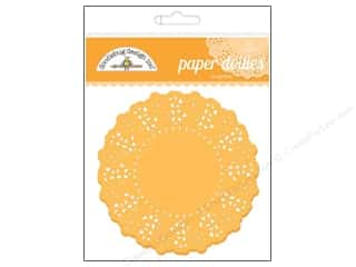 Craft Embellishments Holiday Sale: Doodlebug Embellishment Doilies Tangerine
