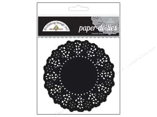Craft Embellishments Black: Doodlebug Embellishment Doilies Beetle Black