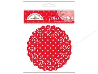 Holiday Sale: Doodlebug Embellishment Doilies Polka Dot Ladybug