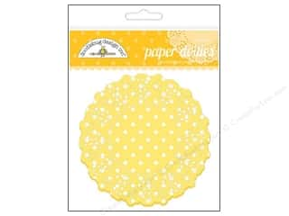 Home Decor Scrapbooking Sale: Doodlebug Embellishment Doilies Polka Dot Bumblebee