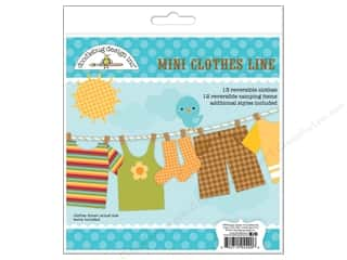 Happy Lines Gifts Orange: Doodlebug Happy Camper Craft Kit Mini Clothes Line