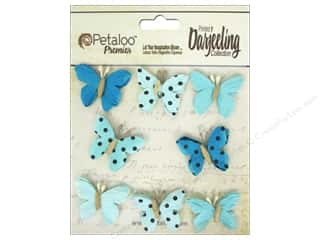 Petaloo Petaloo Darjeeling: Petaloo Darjeeling Mini Butterfly Teastain Teals