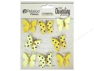 Petaloo Darjeeling Mini Butterfly Teastain Yellow