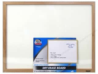 The Board Dudes Dry Erase Boards Wood Frame 17 x 23 in.