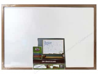 Erasers Dry Erase Boards: The Board Dudes Dry Erase Boards Wood Frame 23 x 35 in.