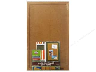 Board Dudes, The Cork: The Board Dudes Cork Bulletin Boards 11 x 17 in. Wood Frame