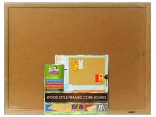 Bulletin Boards The Board Dudes Dry Erase Boards: The Board Dudes Cork Bulletin Boards 17 x 23 in. Wood Frame